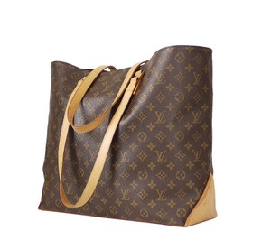 Louis Vuitton Lv Lv Lv Shopping Limited Edition Lv Travel Tote in Brown