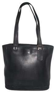 Coach Leather #9305 Usa Made Tote in Black