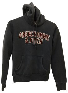 Abercrombie & Fitch Abercrombie & Fitch Distressed Hoodie w/ Vintage Stitched Lettering S