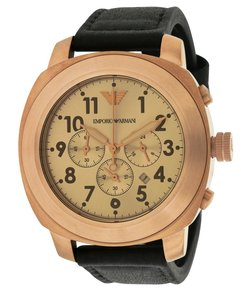 Emporio Armani Emporio Armani Sport Leather Mens Watch AR6087