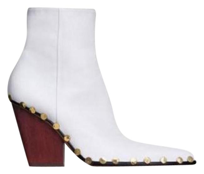 Item - Optic White Rodeo Boots/Booties Size US 9 Regular (M, B)