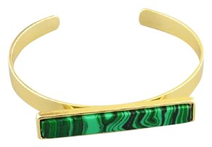 Other Malachite Green Gold Statement Cuff Bracelet.jpg
