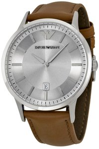 Emporio Armani Emporio Armani Renato Leather Mens Watch AR2463