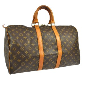 Louis Vuitton Keepall 45 Travel Shoulder Bag