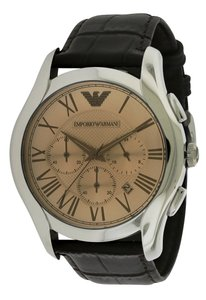 Emporio Armani Emporio Armani Classic Leather Chronograph Mens Watch AR1785