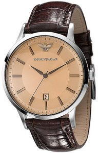 Emporio Armani Emporio Armani Leather Clasic Mens Watch AR2427
