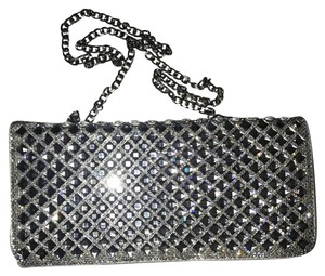 Starlet Prom Evening Formal silver Clutch