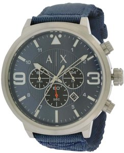 A|X Armani Exchange Armani Exchange Stret Chronograph Nylon Mens Watch AX1373