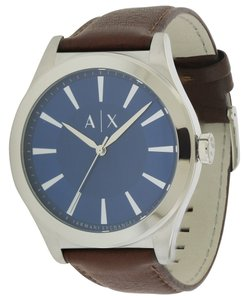 A|X Armani Exchange Armani Exchange Dress Leather Mens Watch AX2324