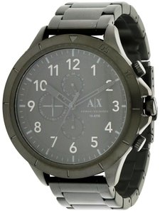 A|X Armani Exchange Armani Exchange Black Stainless Steel Chronograph Mens Watch AX1751