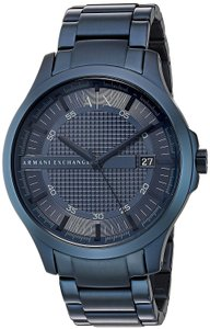 A|X Armani Exchange Armani Exchange Blue Stainless steel Mens Watch AX2193