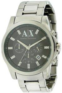 A|X Armani Exchange Armani Exchange Stainless Steel Chronograph Mens Watch AX2092