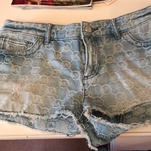 Michael Kors Cut Off Shorts denim