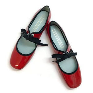 Marc Jacobs Mary Jane Bow Grosgrain red patent Flats