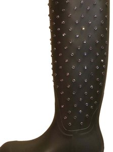 Saint Laurent Dark Green Hunter Green Boots