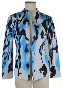 Ming Wang Animal Fashion Career Acrylic Cardigan