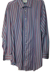 Robert Graham Mens Shirt Button Down Shirt MULTICOLOR