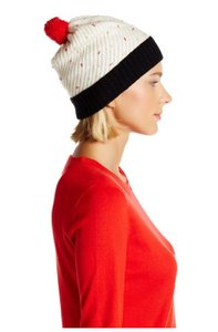 Kate Spade Kate Spade Cupcake Beanie with Cherry Pom