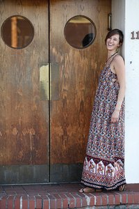 Multi Maxi Dress by Jayli Hippie Boho The Treasured Hippie Handmade