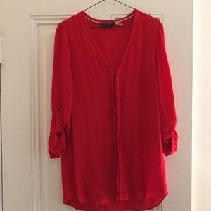 Alice + Olivia Top red