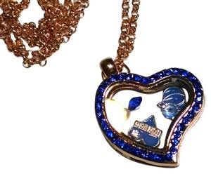 New Floating Locket Charm Necklace + 8 Charms You Choose J735