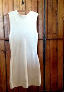 Cream Maxi Dress by Theory