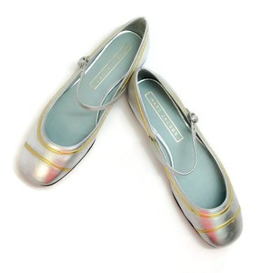 Marc Jacobs silver / gold Flats