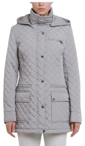 Calvin Klein Calvin Hooded Quilted grey Jacket