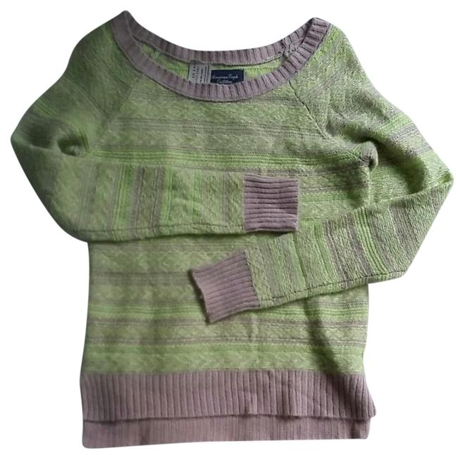 Preload https://img-static.tradesy.com/item/20991769/american-eagle-outfitters-green-sweaterpullover-size-4-s-0-2-650-650.jpg