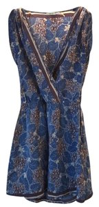 Urban Outfitters short dress blue multi on Tradesy