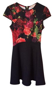 Ted Baker short dress black and red on Tradesy