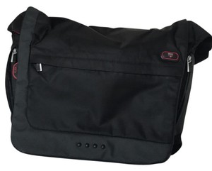 Tumi Black Messenger Bag