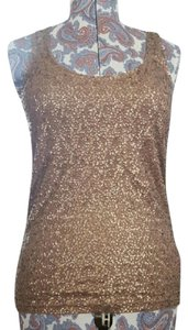 J.Crew Sequins Sequin Top Bronze