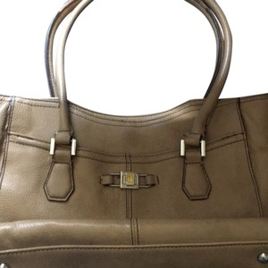 Tignanello Satchel in carmel beige