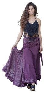 Other Hippie Boho The Treasured Hippie Handmade Gypsy Skirt Dark Plum