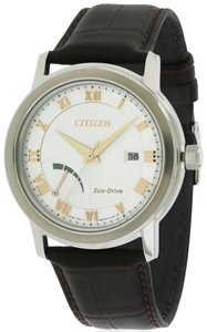 Citizen Citizen Eco-Drive Leather Mens Watch AW7020-00A