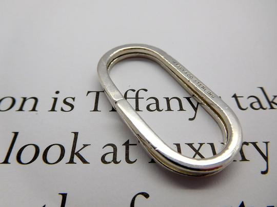 Tiffany & Co. Tiffany Paper Clip Keychain Key Ring in Sterling Silver