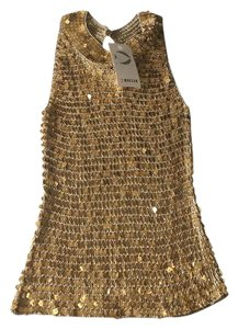 morgan tricot Top gold
