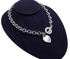 Tiffany & Co. Return to Tiffany Heart Toggle Necklace in Sterling Silver