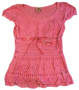 Faded Glory Knit Top Pink