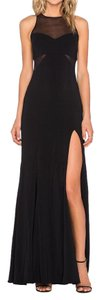 jay Godfrey mesh inset gown Dress