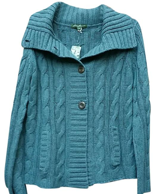 Preload https://img-static.tradesy.com/item/20992579/eddie-bauer-blue-fisherman-s-cardigan-size-8-m-0-2-650-650.jpg
