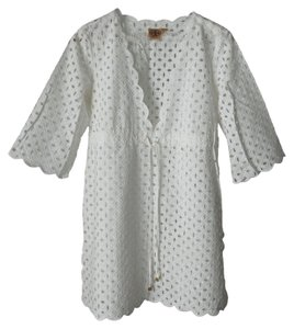 Tory Burch Eyelet Coverup Tunic