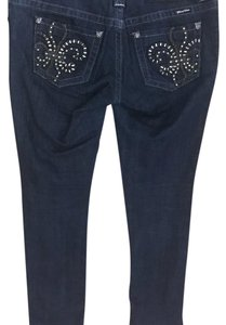 Miss Me Straight Leg Jeans-Dark Rinse