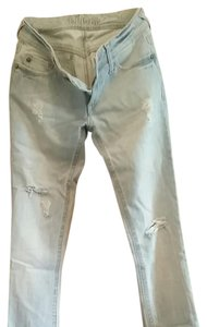 DL1961 Lightly Distressed Skinny Jeans-Distressed