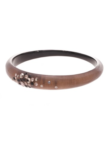 Preload https://img-static.tradesy.com/item/20992762/alexis-bittar-bronze-lucite-and-crystal-bangle-bracelet-0-0-540-540.jpg
