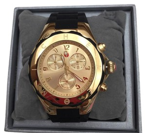 Michele NIB MICHELE Tahitian Jelly Bean large Chronograph watch MWW12F000034