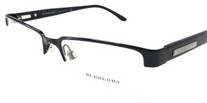 Burberry Burberry Eyeglasses Black Semi-Rimless Optical Frame