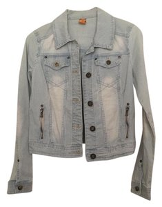 Jou Jou faded denim Womens Jean Jacket