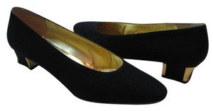 Bruno Magli New Size8aaa BLACK, GOLD Pumps
